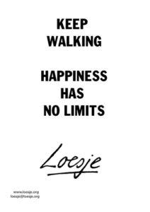 Loesje Walking